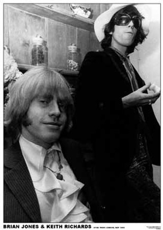 lgart018brian-jones-keith-richards-london-1967-the-rolling-stones-poster