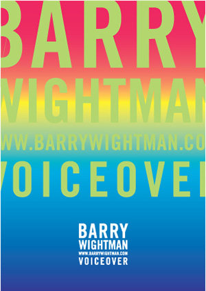 Barry Wightman Voiceover